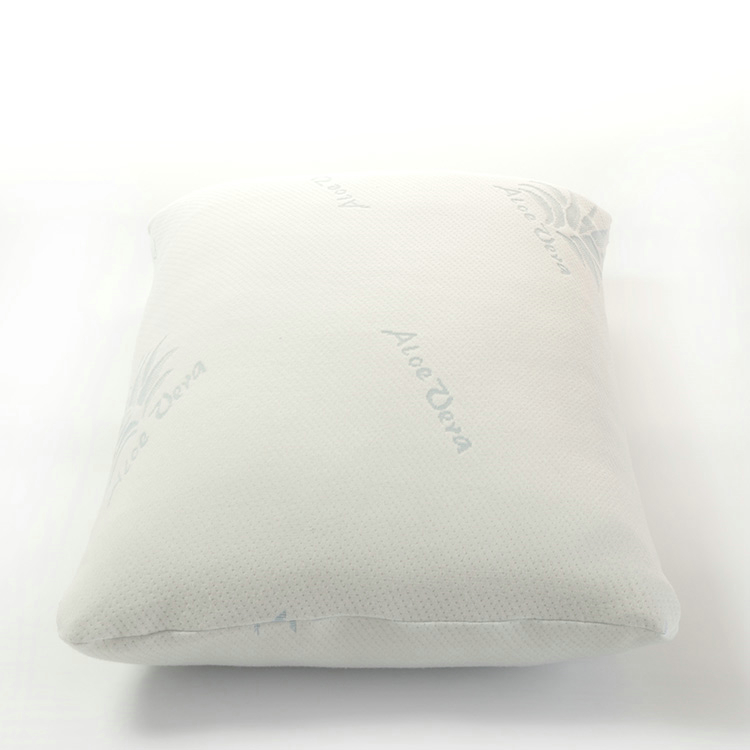 aloe vera bamboo cover shredded memory foam pillow