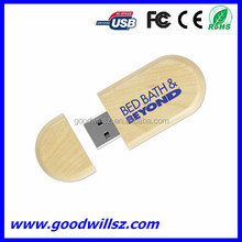 2015 New! 4/8/16/32GB wooden usb flash disk pen drive with custom logo