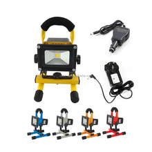 10W LED Rechargeable Flood Light, Rechargeable LED Work Light with stand