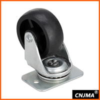 48mm appliance caster wheel with iron bracket HL201
