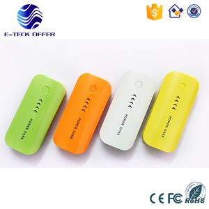Fast shipping rohs mobile power bank 5600mah with free sample