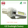 New product 3535 12SMD 7440 T20 P21W 6W Car Led turn signal brake light