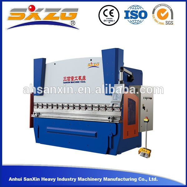 hand folder manual metal sheet folding press brake machine manufacturer