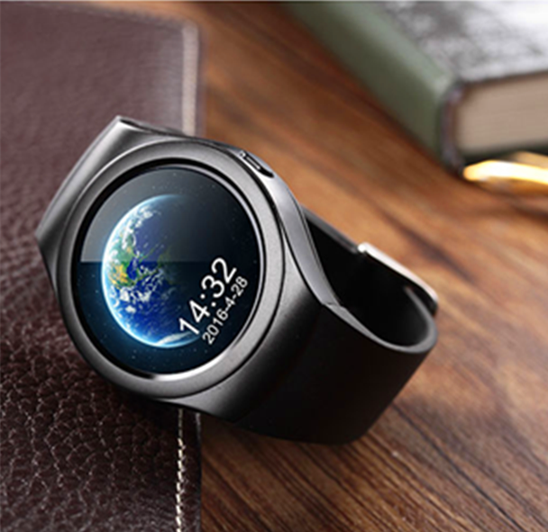 GPS Tracker touch screen bluetooth smart watch mobile phone with sim card and camera