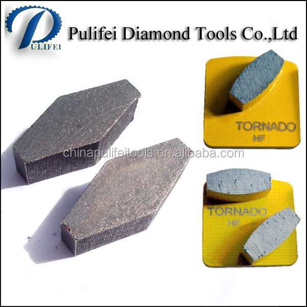 Floor Grinding Diamond Tools Concrete Grinding Segment for Terrazzo Floor, Hard Concrete, Old Concrete Surface Preparation