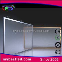 Shenzhen factory direct supply smart transparent led display screen for advertiisng function