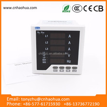 Multifunction Digital Ac Voltmeter/Ac Ammeter Led Voltage Meter
