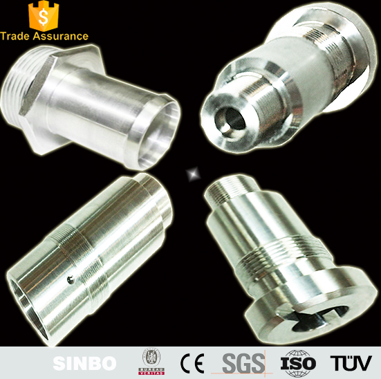 Custom made cnc precision machining stainless steel flange bushing turned/milling steel structure auto parts