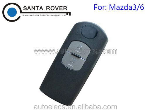 For Mazda M3 M6 CX-7 CX-9 MX-5 Miata Smart Car Key Case Fob 2 Button