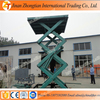 Hydraulic scissor lift work tables small model hydraulic lifting equipment