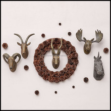 Good Price Of Pet Resin Rustic Wall Decor With Luxury Antler Shape For Shabby Chic Home Decor And Hoetl Decor