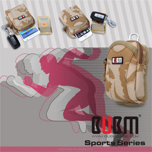 Camouflage Outdoor Running Sport Armband Wrist Bag for 4.3 inch Gym Mobile Phone Arm Holder