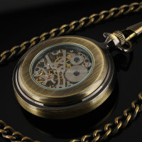 Classic Vintage Pocket Watch Automatic Mechanical Watch Antique Watch WP120