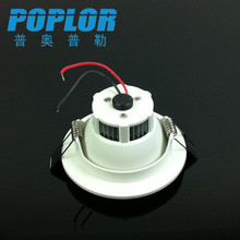 New design die-casting aluminum + PC 3W led light downlight IC constant current wide voltage ceiling lamp