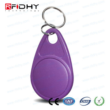 2016 Hot Sale Writable ISO14443 13.56MHz RFID Keyfob