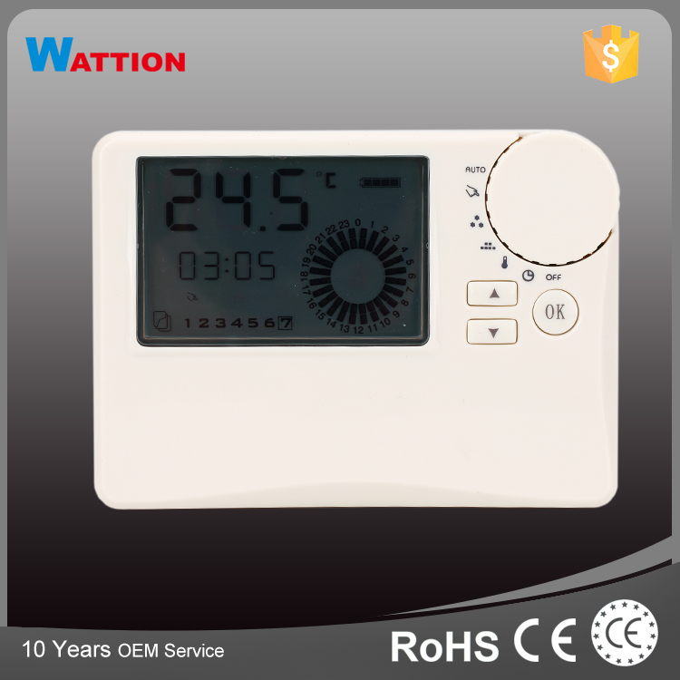 Small Temperature Differential Wired Digital Radiator Thermostat
