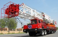 Truck mounted workover rig