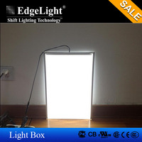 Edgelux panel Custom made high quality ultra-thin frameless led panel lighting LGP bright flat LGP