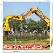 Attached To Excavator Mounted Vibro Hammer