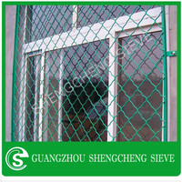Hot dipped galvanized playground wire mesh beautiful grid mesh wire mesh fence manufacturer