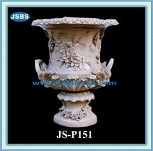 2012 Hand Carved Marble Pots