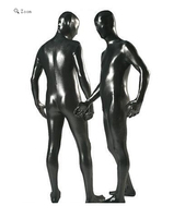 catsuit shinny woman latex leather body suits