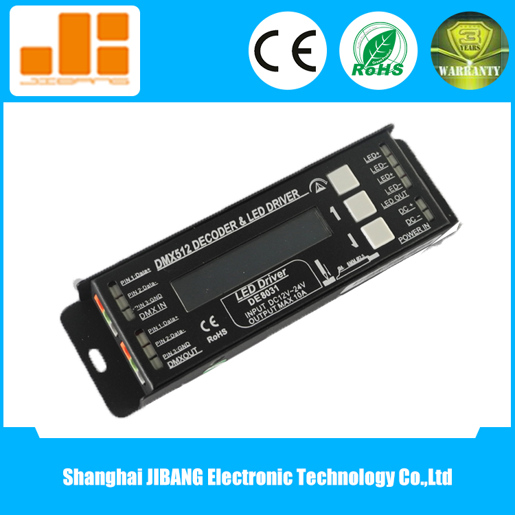 Constant Voltage 1 Channel Dimmer DMX for LED