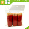 3pcs/pack Portable bamboo toothpick in a lighter tube pocket toothpick