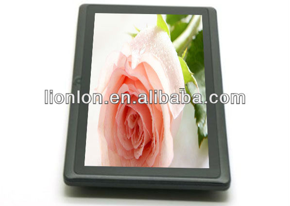 "New 7"" Q88 BOXCHIP A13 Cortex a8 tablet pc Android 4.0 allwinner Cortex a8 HD Wifi capacitive,option"