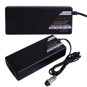Automatic digital display lead-acid battery charger 24V 3A for electrically operated motor car