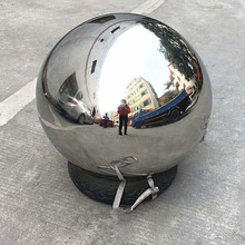 high polished 316 large mirror stainless steel hollow ball