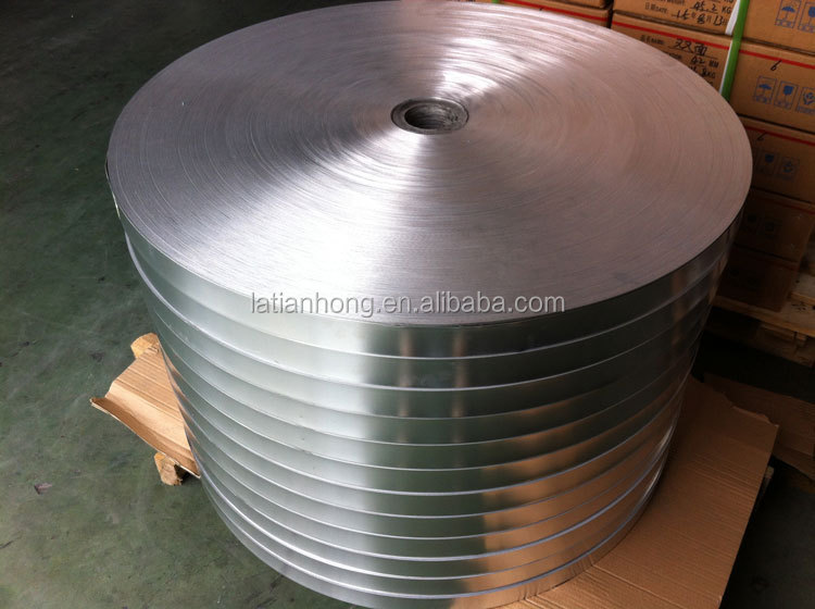 aluminium tape used for fiber optic cable wrapping
