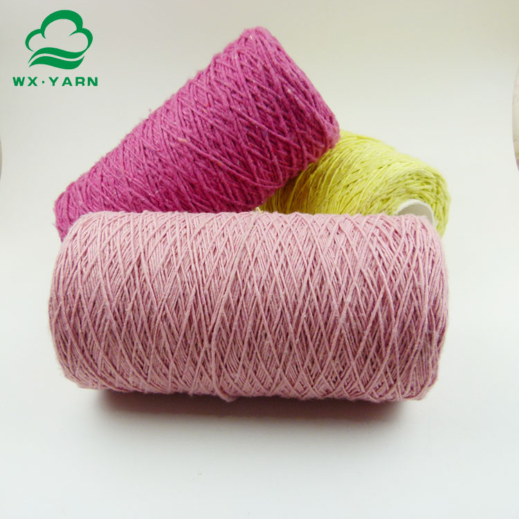 Eco friendly yarn for weaving cotton TC mop yarn
