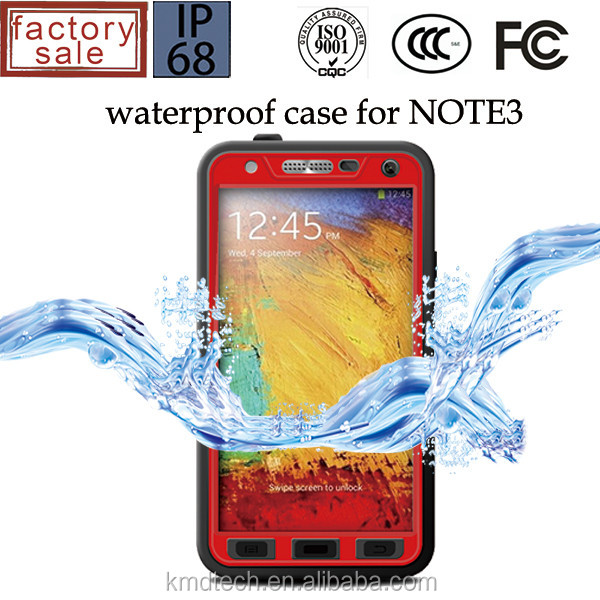Waterproof Case for Samsung Galaxy Note3, For Samsung Galaxy Note3 Waterproof Case Redpepper Case