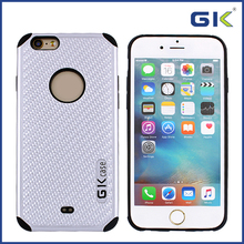 [GGIT] New Arrival Carbon Fiber Design Shockproof 2 in 1 TPU+PC Phone Cover For IPhone 6 Combo Case