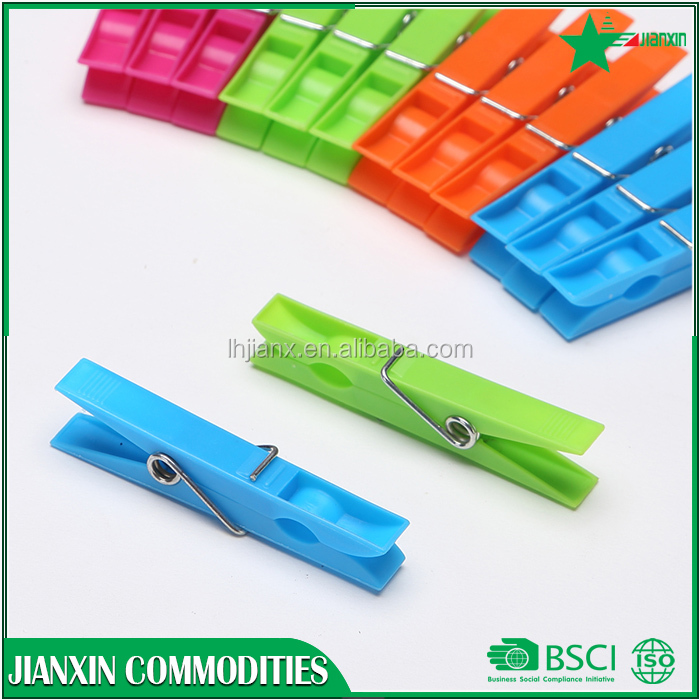 hot selling plastic clothes hanger clips/ clothespin