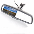 4.3 Inch Monitor for A4 Car Rearview Mirror With Parking Camera with OEM Mirror Bracket