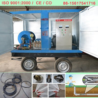 600mm Sewer Cleaning Equipment High Pressure