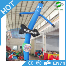 Cheap advertising equipment material flying under sky giant balloon inflatable air dancer for outdoor promotion activity selling