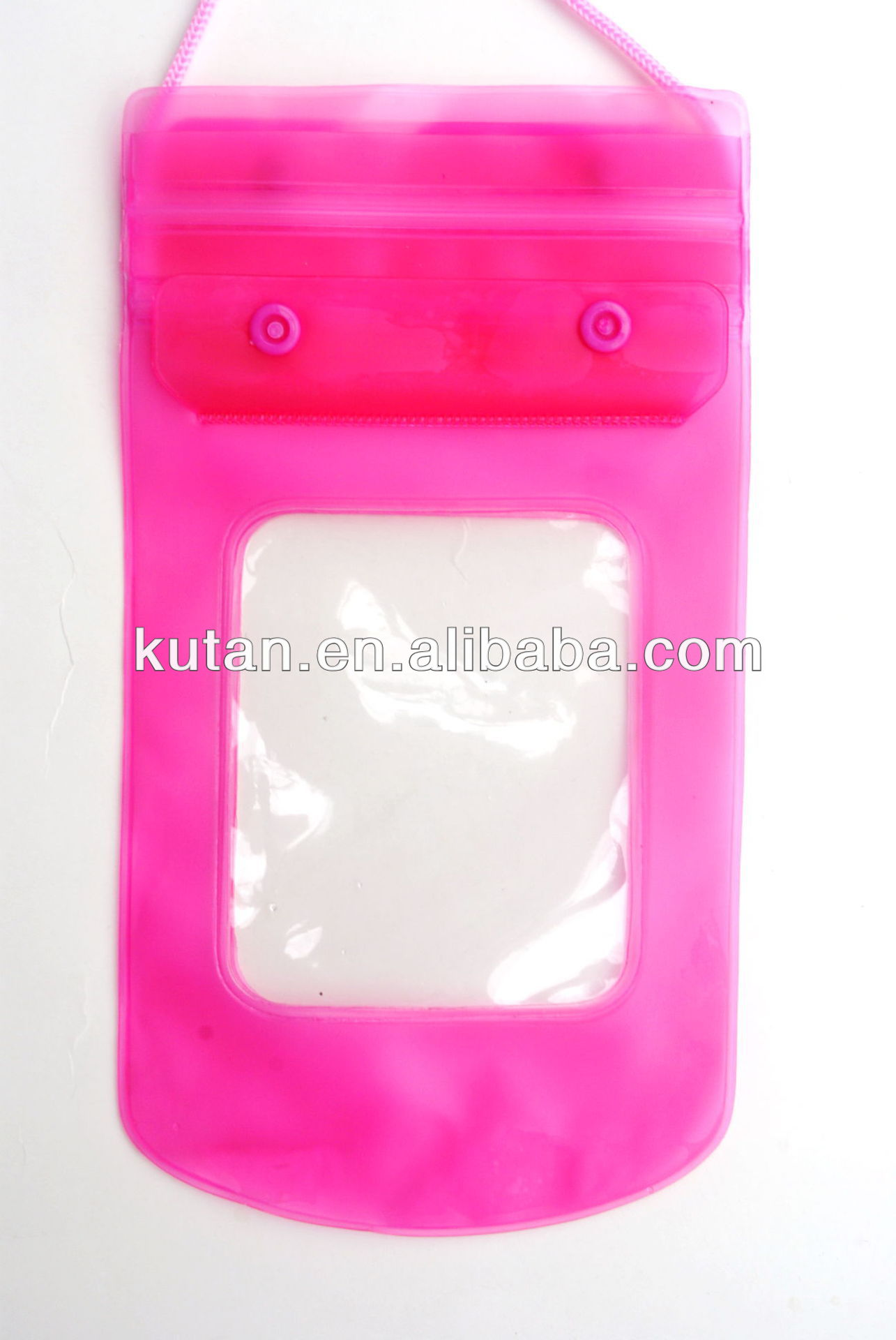 PVC promotional waterproof bag for phone/camera/keys