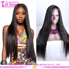 28 Inches Mink Lace Wig Human Hair Virgin Brazilian Large Stock Natural Color Custom Made Long Black Straight Hair Wig