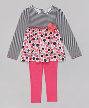 cheap wholesale european children floral dress clothing