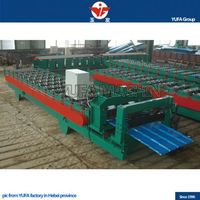Automatic change size C Purlin glazed title roll making machine