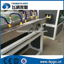 plastic flexible PVC garden hose making machine with price/PVC fiber reinforced soft pipe production line