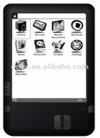 CE RoHs approved 6 inch ebook ereader with wifi and eink dispaly