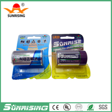 lr 20 D size 1.5v shrink packing alkaline battery/um2 1.5v battery