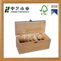 High quality japanese style customized natural handmade wholesale wooden tea box with compartments