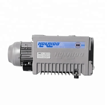 63 dB Sound single stage rotary vane vacuum pump