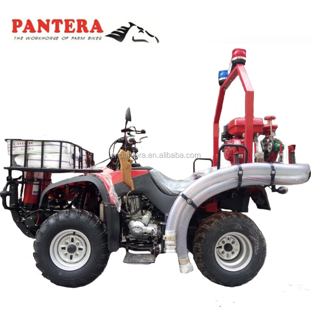 China leading brand quad ski amphibious ATV atv racing 250cc with fire fighting apparatus