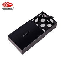Custom Cardboard Paper Packaging Sliding Shoe Gift Black Drawer Box